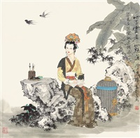 人物 by xiang weiren