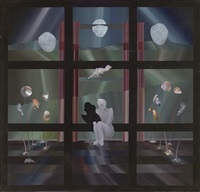surrealist interior by frank docherty