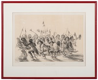 the scalp dance by george catlin
