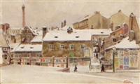 der ratzenstadl im schnee by rudolf pichler