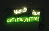 red haired lass; munch box by jason rhoades