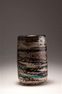 vase winter landscape by adam aaronson