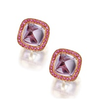 pair of earclips by laura munder