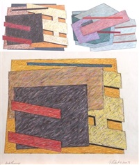 dark passage (+ others; 3 works) by george rodart