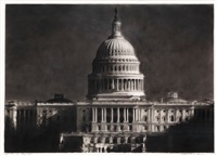 study of the capitol by robert longo