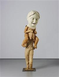 untitled (false pride-carried on the back of shame) by juan muñoz