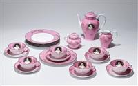 madame de pompadour (née poisson) tea set by cindy sherman