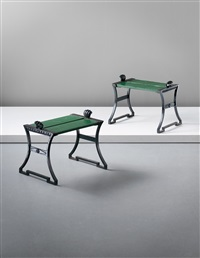 benches (pair) by folke bensow
