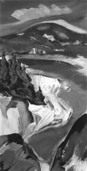 maine coast by howard rackliffe