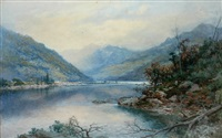 new zealand fjord by william joseph wadham