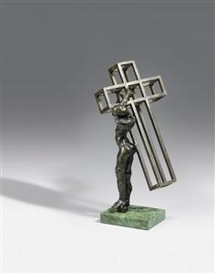 christ portant sa croixchristo de cadaqués by salvador dalí