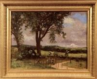 paysage by károly (karl) pongrácz von szentmiklós