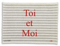toi et moi by louise bourgeois