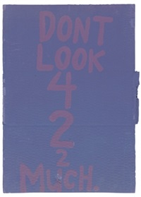 don't look 42 much by cary s. leibowitz (candyass)