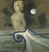 figure head with moon by charles s. (pic) higgins