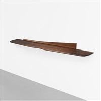 wall-mounted shelf by wharton h. esherick