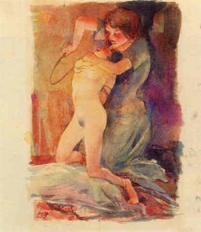 Harem erotische Malerei des arabischen