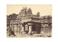 a group of 6 temple views at pattadakal (6 works) by thomas biggs
