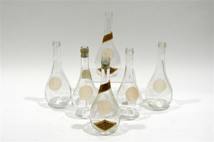 six carafes clos sainte odile by rené lalique