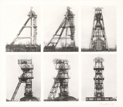 forderturme by bernd and hilla becher
