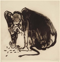 baboon ii by brett whiteley