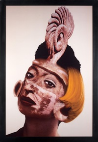 defiguration-refiguration/self-hybridation pre-colombienne n°5 by orlan