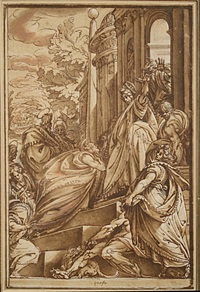 st. peter before christ by andrea boscoli