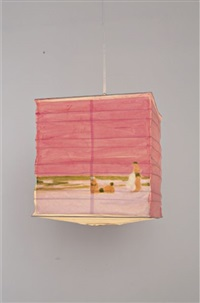 pink beach lantern by isca greenfield-sanders