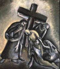 the descent from the cross by yvonne atkinson