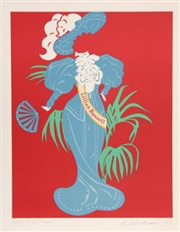 lillian russell by robert indiana