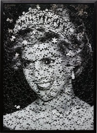 diana from gordian puzzle by vik muniz