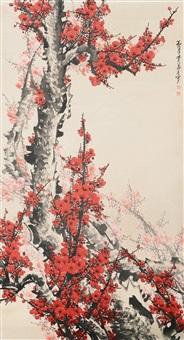 红梅迎春 by guan shanyue