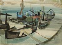 bateaux à quai by endre vadász