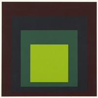 i-s k (from homage to the square) by josef albers
