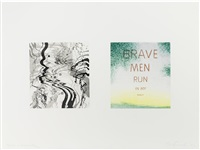 brave men run in my family by ed ruscha