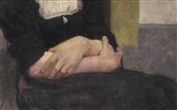 hands by wilhelm maria hubertus leibl