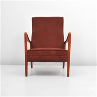 lounge chair by folke ohlsson