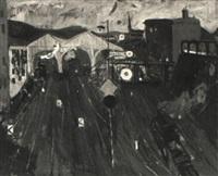 la gare by tamas konok