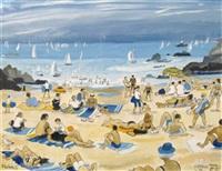 la plage de st. briac by alain bailhache