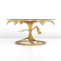 floriform cocktail table by arthur court