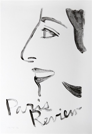 paris review 2 by alex katz