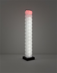 cometa floor lamp, model no. l 026, designed by ettore sottsass