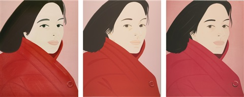 brisk day i iii 3 works by alex katz