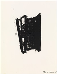 sketch #2 (from sketches series) by richard serra