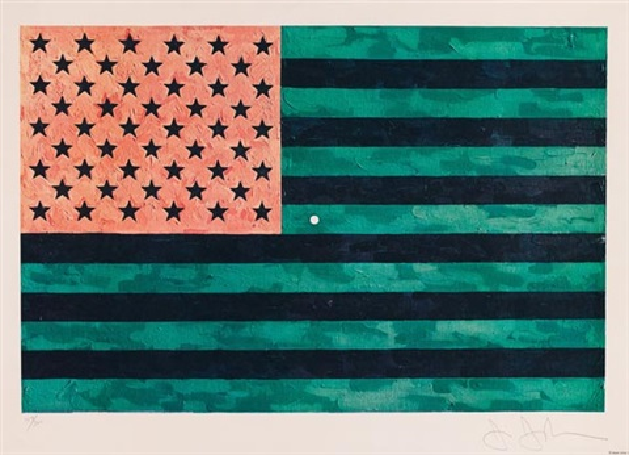 flag moratorium by jasper johns