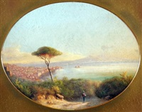 bay of naples by e. altrui