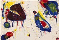 hear stone by sam francis