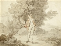 the school boy (from the seven ages of man) by thomas rowlandson