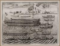 bucintoro nella solennita, che si celebra in venetia nel giorgno dell'ascensione by vincenzo maria coronelli