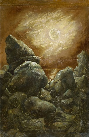 rocks at bornholm by george grosz
